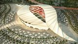 Artists's impression of Al Khor stadium