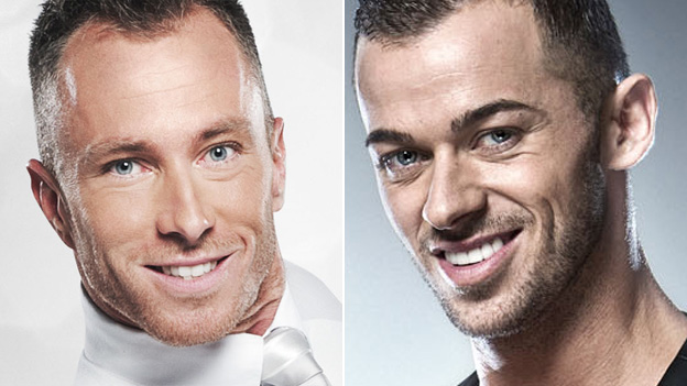 James Jordan and Artem Chigvintsev
