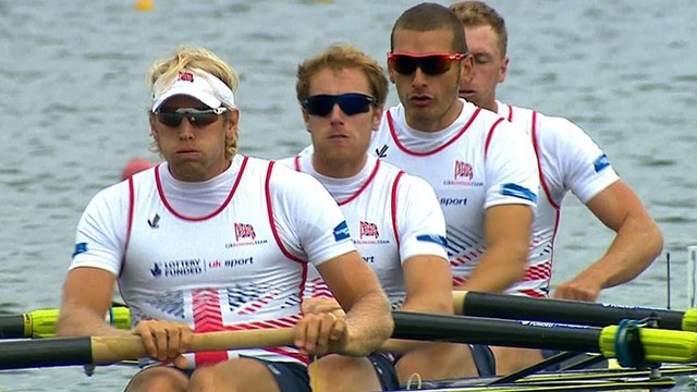 Dominant GB win gold in men's fours