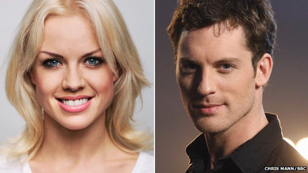 Joanne Clifton and Tristan MacManus