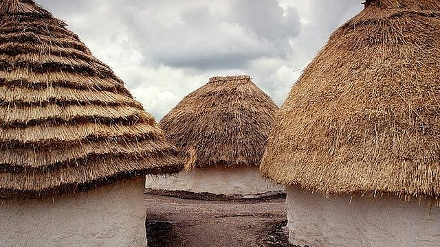 Neolithic houses at Stonehenge