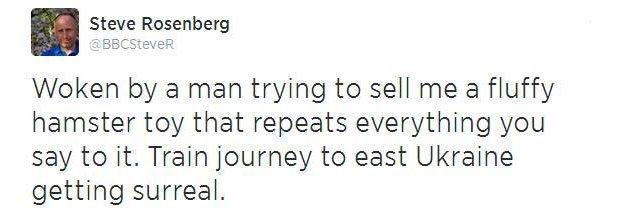 Steve Rosenberg tweet