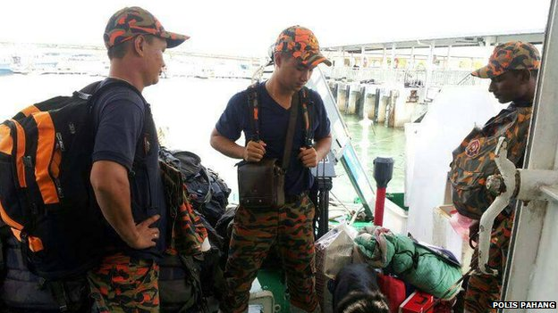 Malaysian rescuers