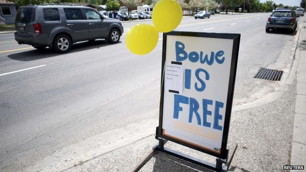 Hailey, Idaho, is celebrating Bowe Bergdahl's release, 1 June
