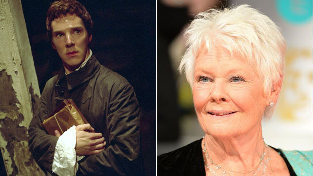 Benedict Cumberbatch and Dame Judi Dench