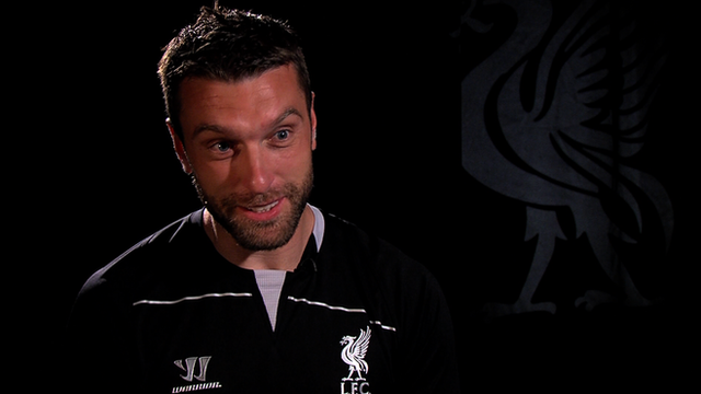 Liverpool signing Rickie Lambert on dream move