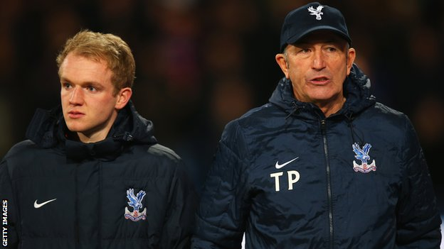 Jonathan Williams and Tony Pulis