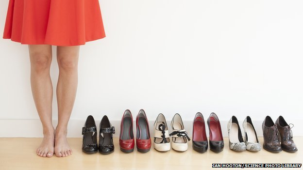 Men And Woman Shoes Sizes Compared