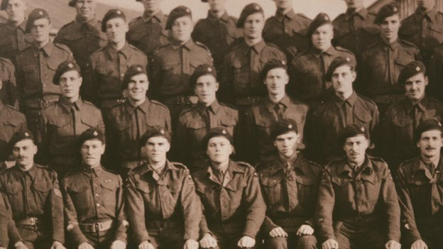 D Company 52nd Light Infantry 1943