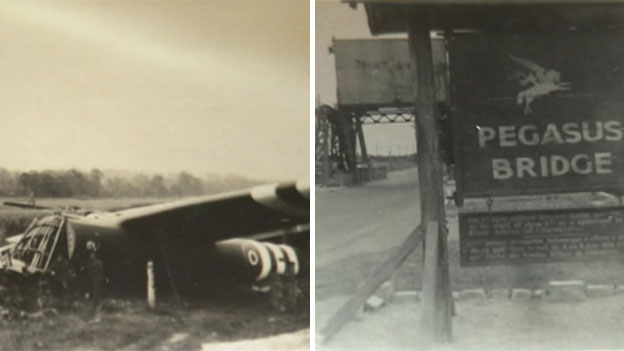 The glider used in Operation Deadstick and Pegasus Bridge