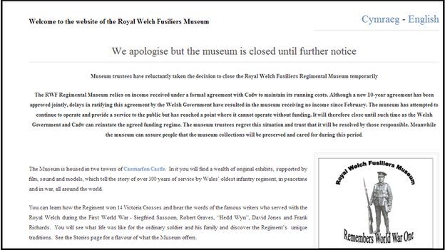 Statement on RWF Museum