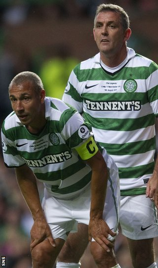 Henrik Larsson and Owen Coyle