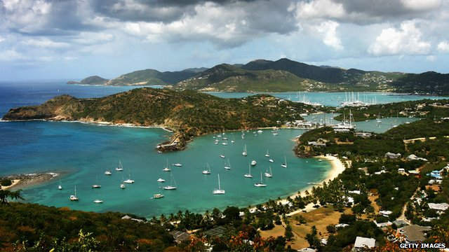 St John's harbor in Antigua