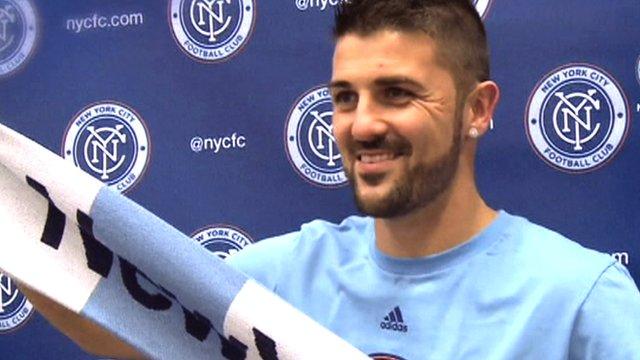 David Villa explains New York City FC move