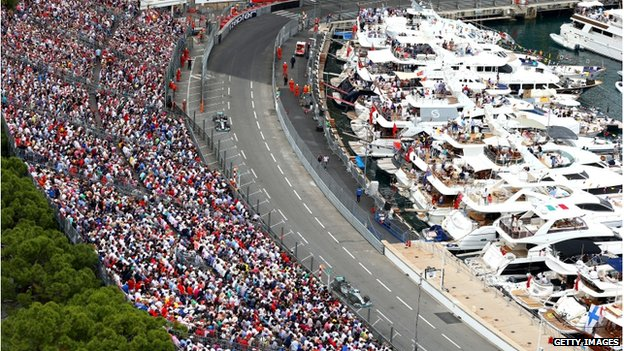 Lewis Hamilton of Great Britain and Mercedes GP drives during the Monaco Formula One Grand Prix at Circuit de Monaco on May 25, 2014 in Monte-Carlo, Monaco