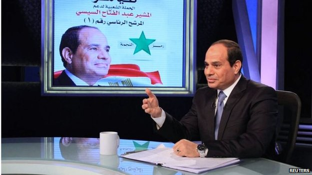 Abdul Fattah al-Sisi in television interview (06/05/14)