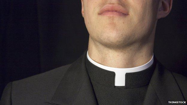 Priest dog collar