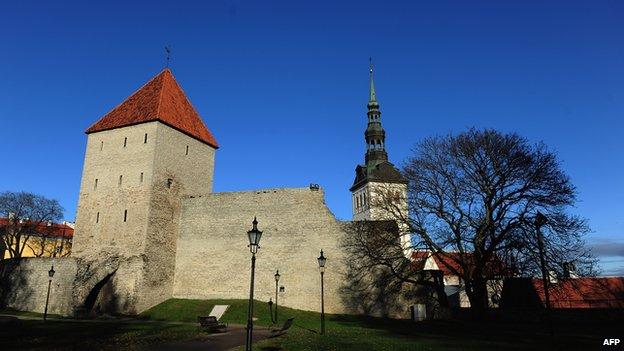 Medieval walls of Tallinn