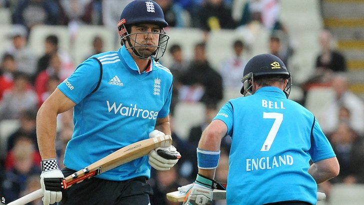 Alastair Cook and Ian Bell