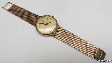 Ronnie Kray's favourite wristwatch