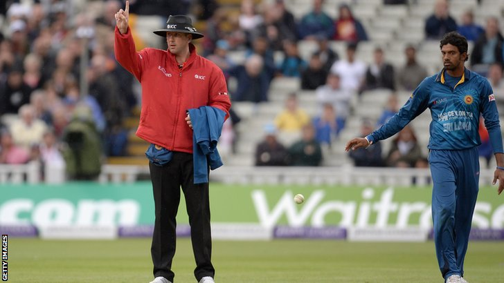Jos Buttler is given out