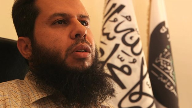 Hassan Abboud of the Islamic Front