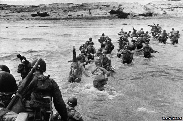 D-Day landings, 6 June 1944