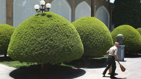 Contemporary art museum in Isfahan
