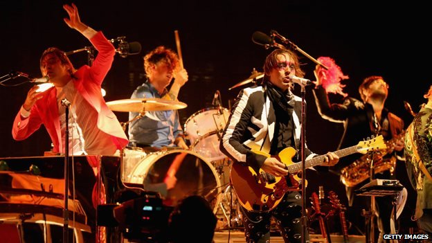 Arcade Fire on stage