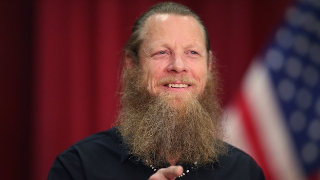 Bob Bergdahl speaks about the release of his son Sgt. Bowe Bergdahl during a press conference at Gouen Field national guard training facility on June 1, 2014 in Boise, Idaho.