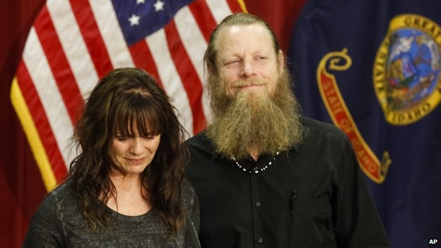 Jani and Robert Bergdahl (1 June 2014)