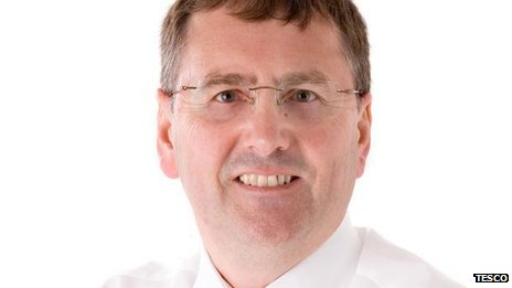 Tesco chief executive Philip Clarke