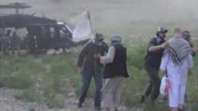 Still from Taliban released video