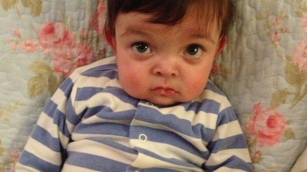 Stem cell match for 'one in nine million' toddler Joey Ziadi