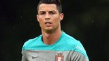Cristiano Ronaldo trains in America