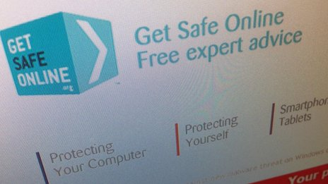 Get Safe Online website