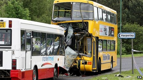 Stanley bus crash