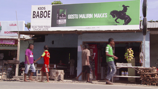 Shop front in East Timor