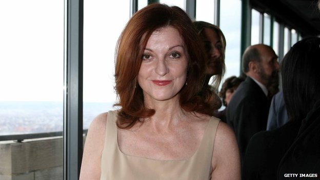 New York Times columnist Maureen Dowd in New York on 4 April, 2006.