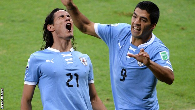 Cavani and Suarez