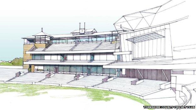 Plans for new pavilion
