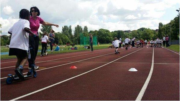 Dartford running track