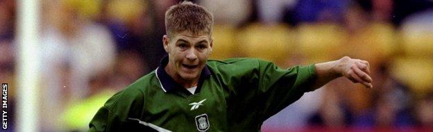 Steve Gerrard Liverpool 1998