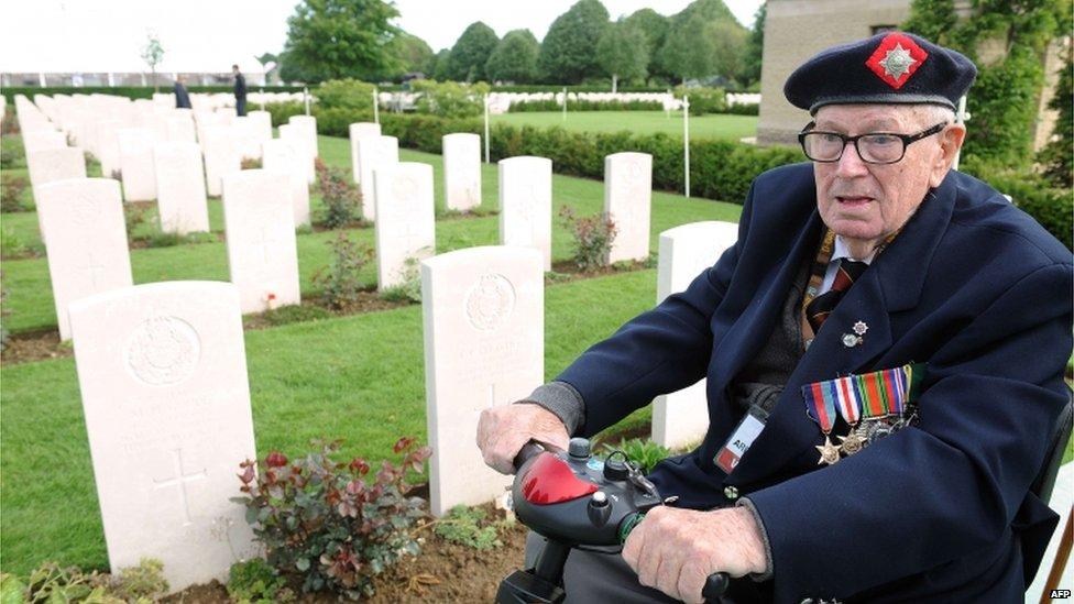 WWII veteran Frank James