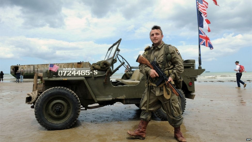 A French military enthusiast