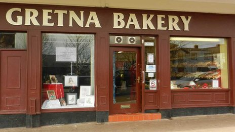 Gretna Bakery premises