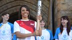 Dame Kelly Holmes at Tonbridge Castle