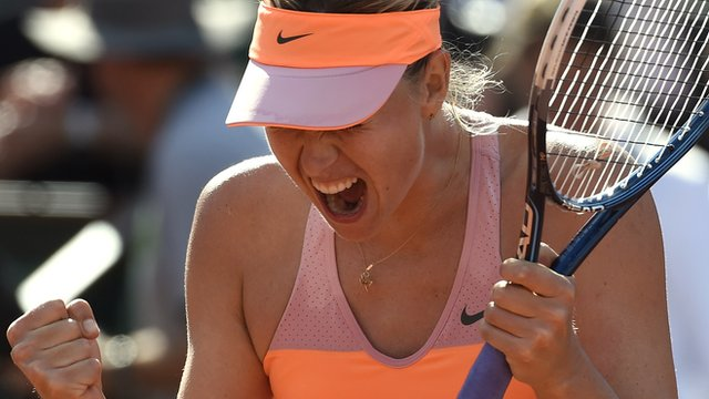 French Open 2014: Maria Sharapova 'happy & proud' of win