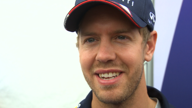 Four-time world champion Sebastian Vettel