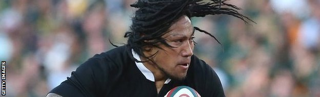 Ma'a Nonu in action for New Zealand